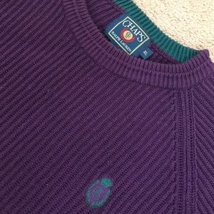 CHAPS / RALPH LAUREN MENS KNIT SWEATER - XL